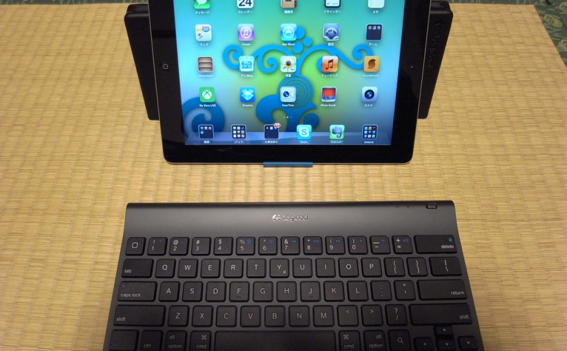 iPad3 + Logicool TK600で快適入力